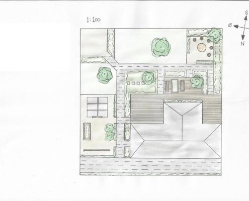 Haveplan Gardening by Hall